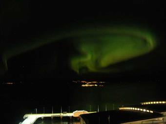 The Northern Lights over Trondheim
